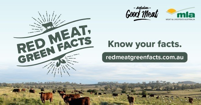 Red Meat, Green Facts